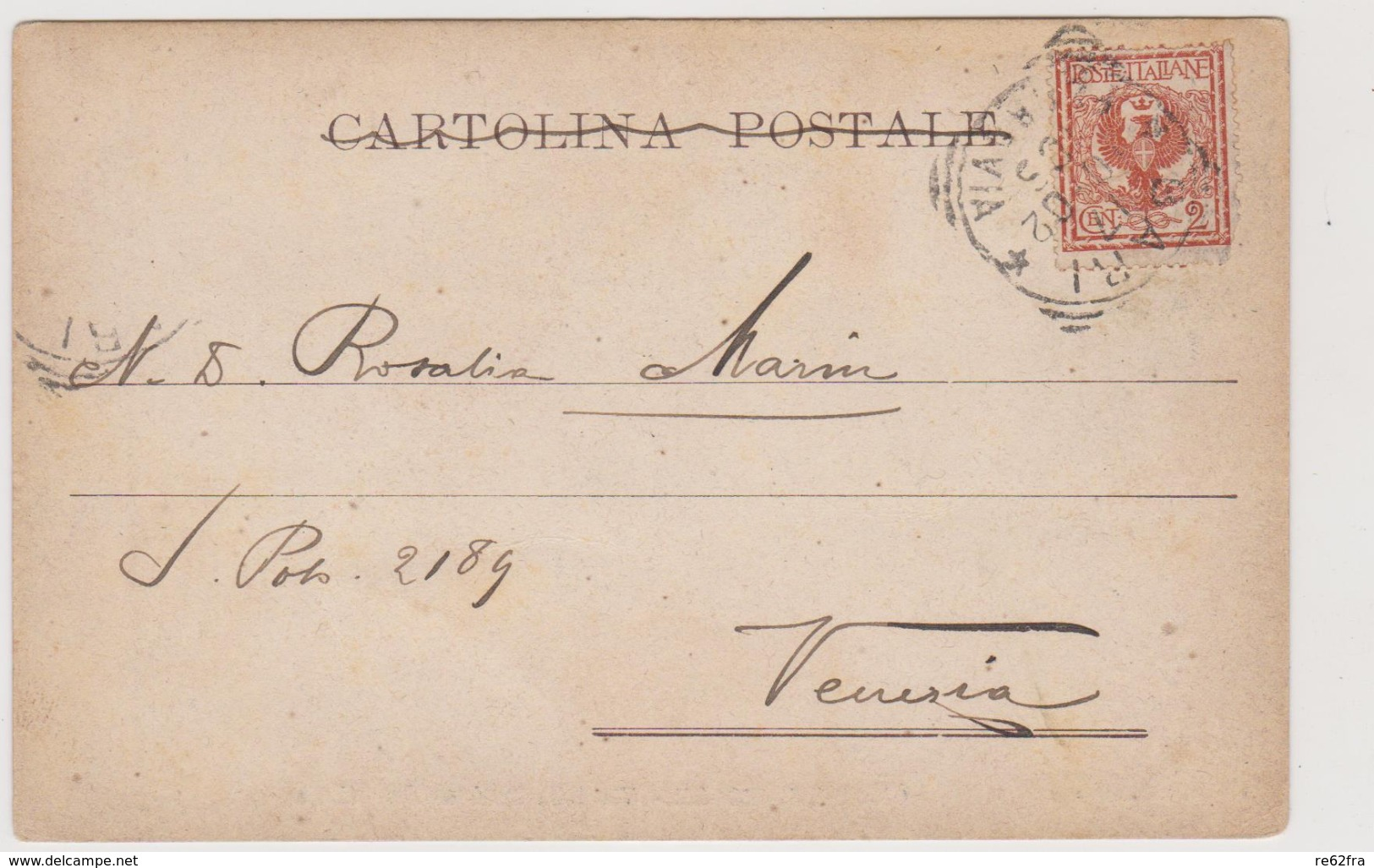 Gioia Del Colle (BA) Via Della Stazione Ferroviaria, Rara - F.p.- Fine '1800 / Inizi'1900 - Bari