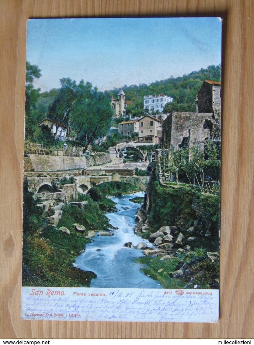 Im1318)  San Remo - Ponte Vecchio - Imperia