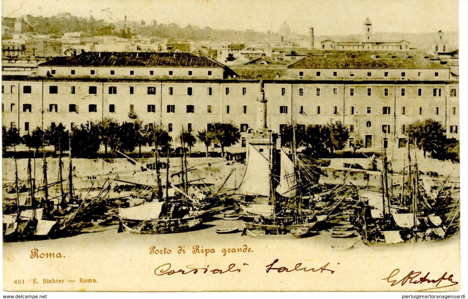 V 10304 - Porto Di Ripa Grande - ROMA F. - Roma