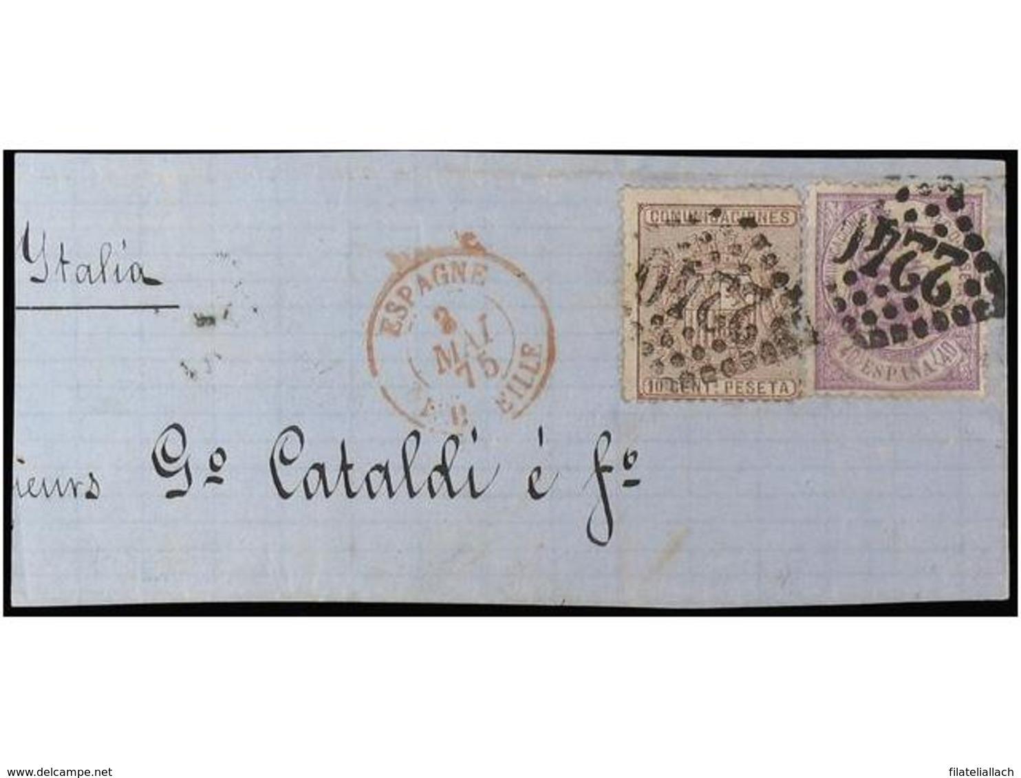 SPAIN: I REPUBLICA 1873-1875 - Spagna