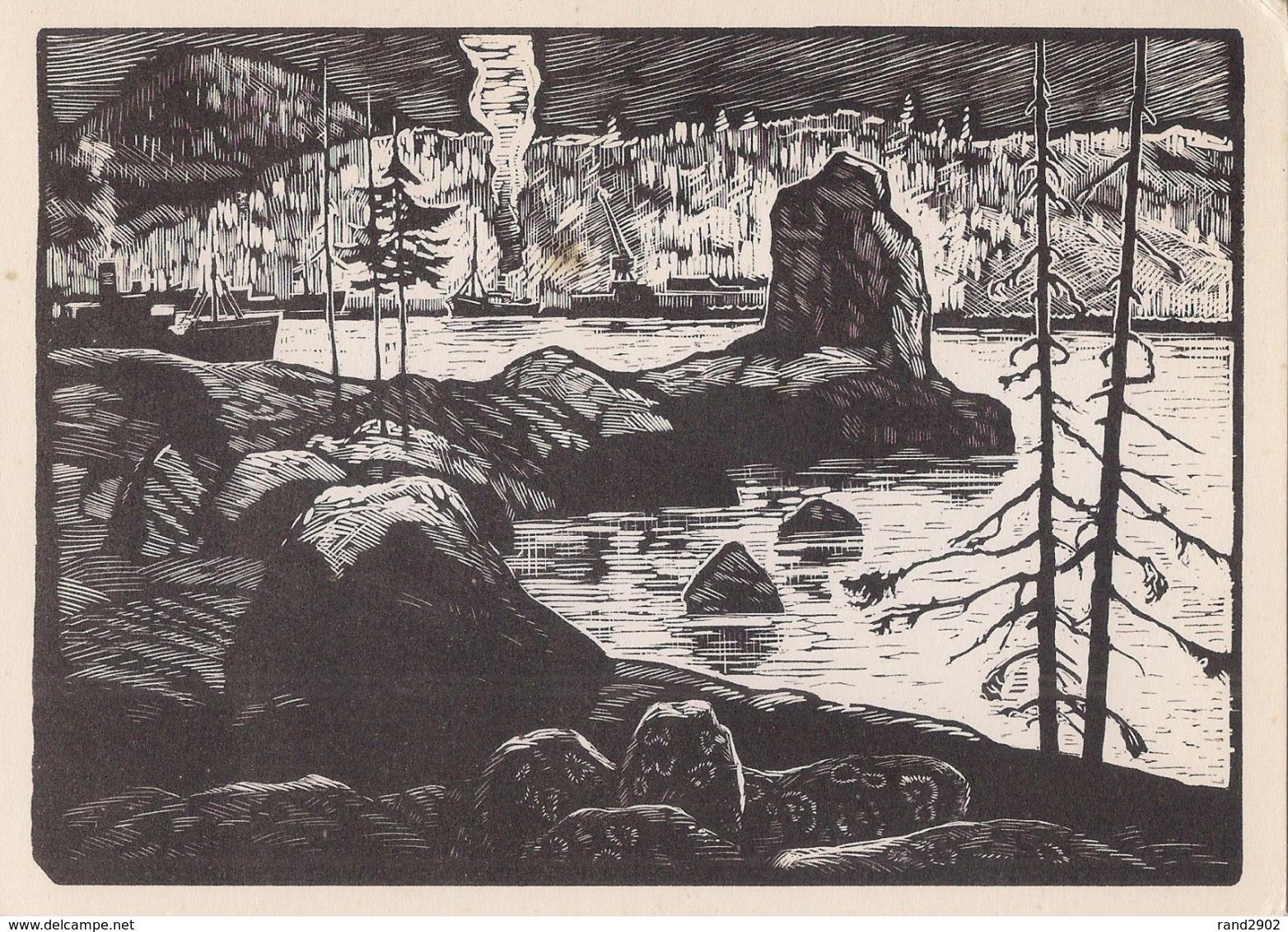 A.Avdyshev - Bay Trawlers - 1968 /P301/ - Peintures & Tableaux