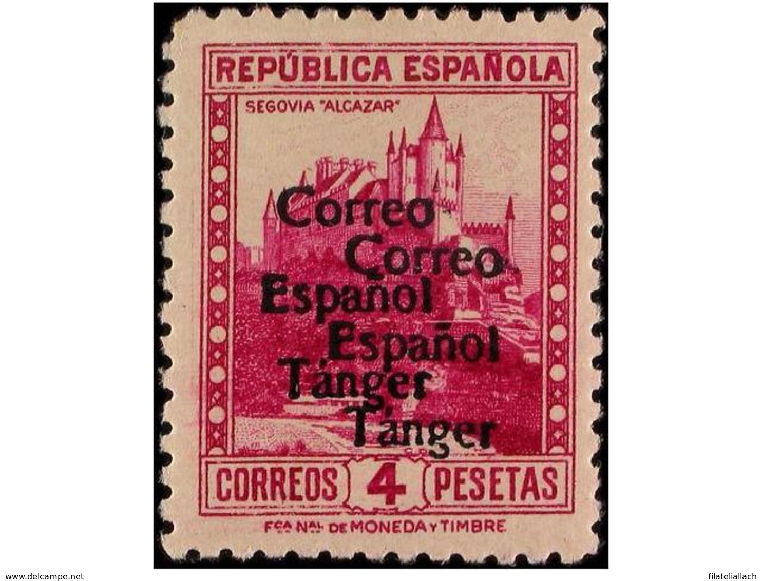 TANGER: SPANISH DOMINION - Maroc Espagnol