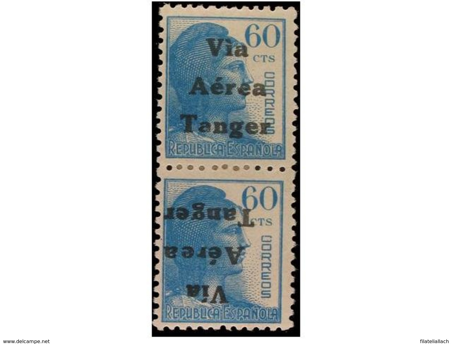 TANGER: SPANISH DOMINION - Marocco Spagnolo