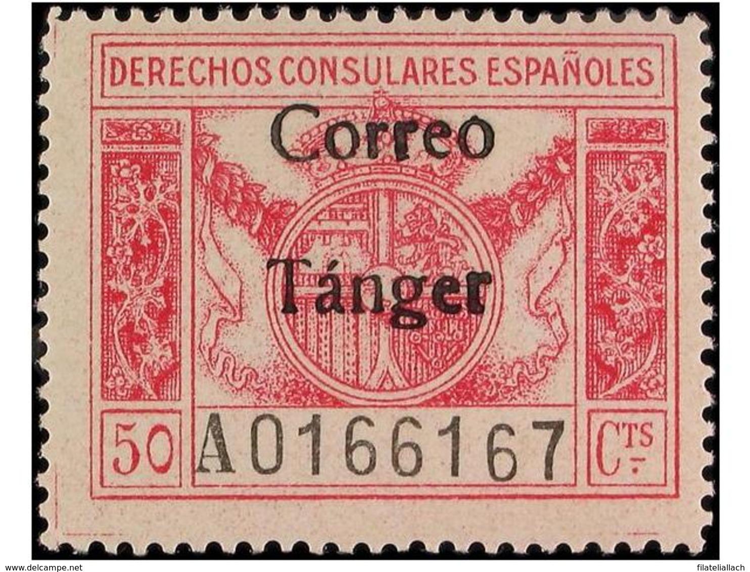 TANGER: SPANISH DOMINION - Marruecos Español