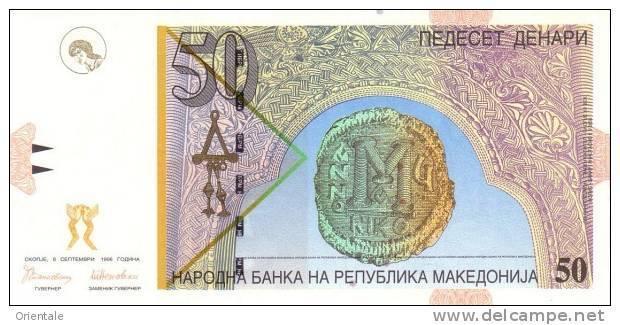 MACEDONIA P. 15e 50 D 2007 UNC - Macedonia