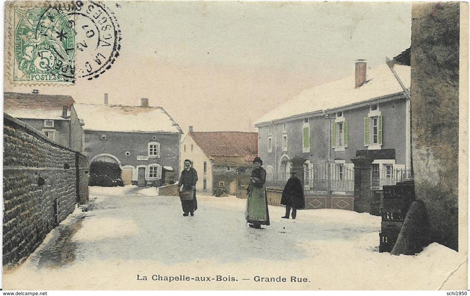 ~  JP  ~  88  ~   LA   CHAPELLE  AUX BOIS     ~   Grande Rue   ~ - France