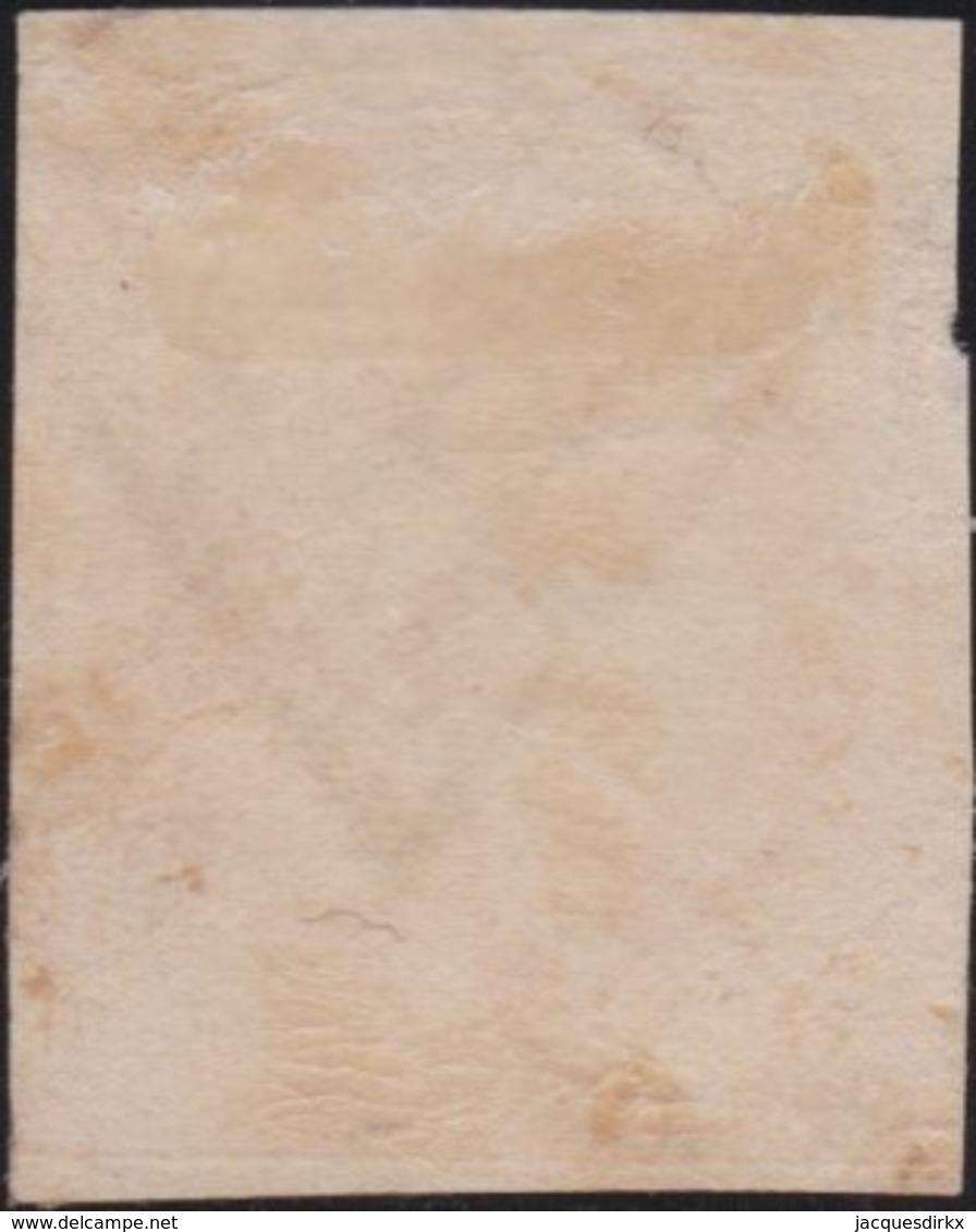France         .    Yvert       .        5    (2 Scans)       .       Oblitéré - 1849-1850 Cérès