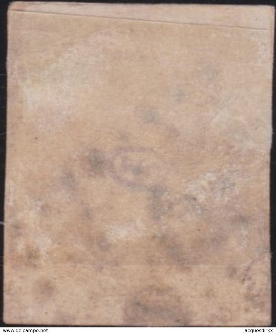 France         .    Yvert       .        6    (2 Scans)       .       Oblitéré - 1849-1850 Ceres
