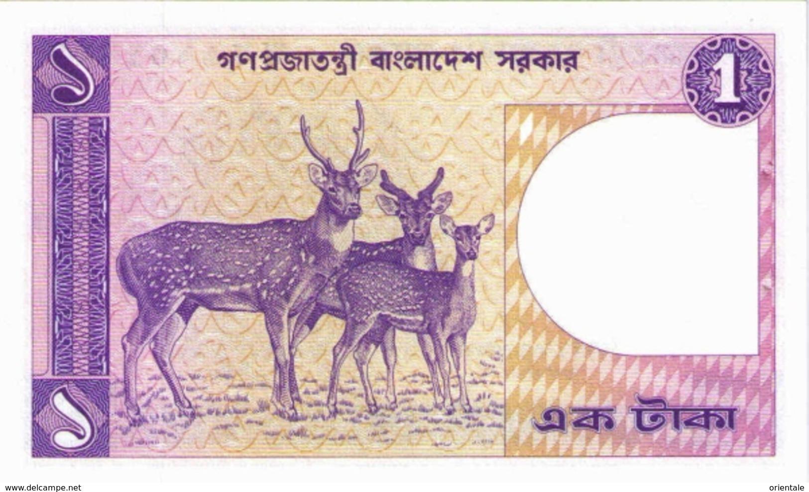 BANGLADESH   P.  6Ba 1 T 1982 UNC - Bangladesh