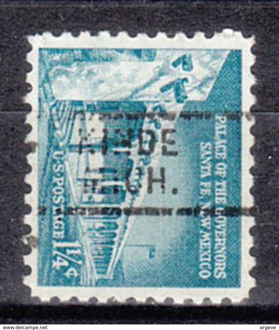 USA Precancel Vorausentwertung Preo, Locals Michigan, Kinde 729 - Vereinigte Staaten