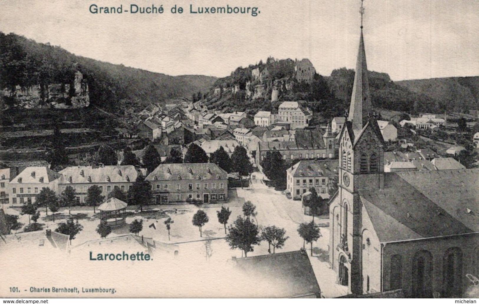 CPA   LUXEMBOUG---LAROCHETTE - Larochette