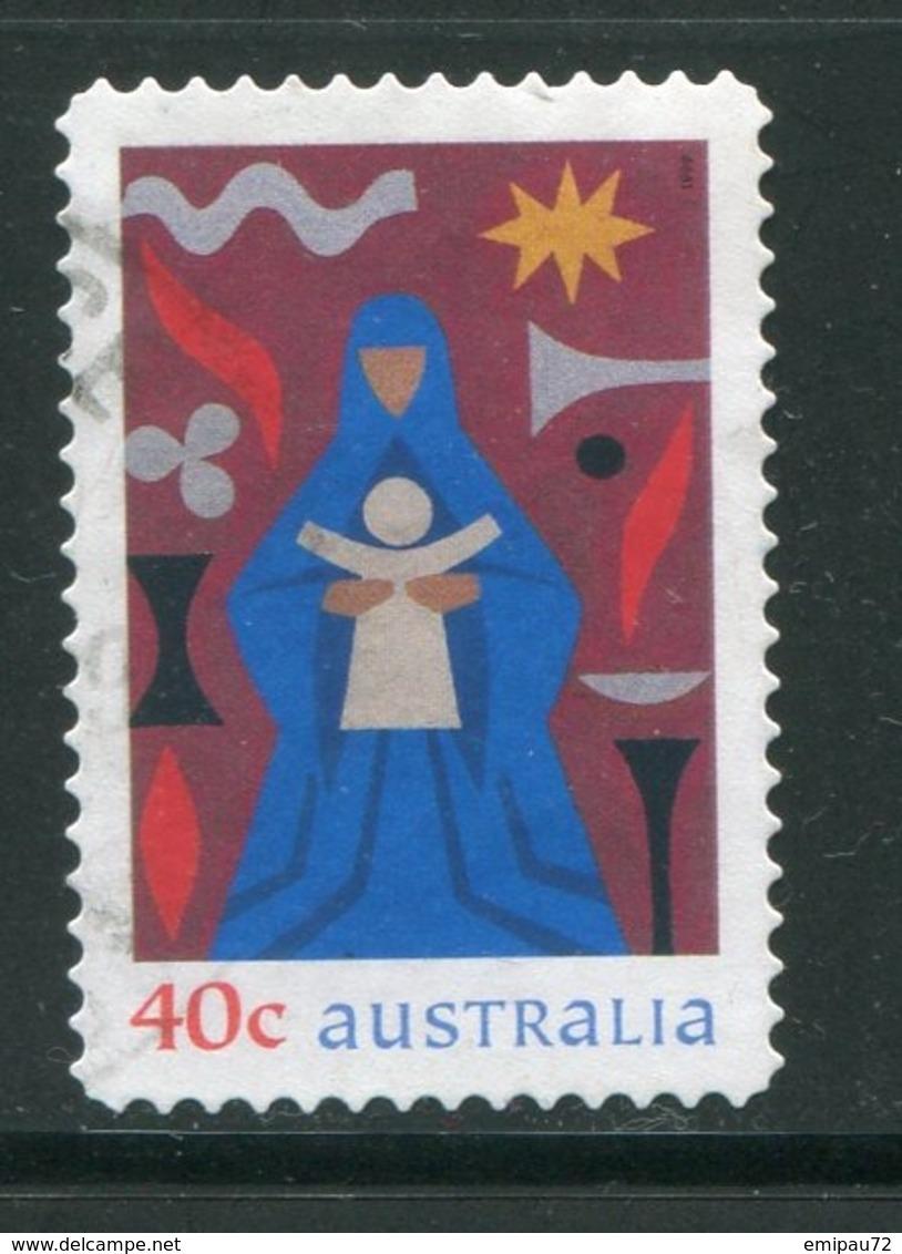 AUSTRALIE- Y&T N°1781- Oblitéré (Noël) - 1990-99 Elizabeth II