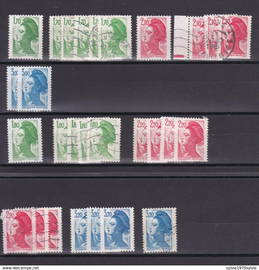 TIMBRE FRANCE/ N° 2318/2319/2320/2375/2376/2377   NEUF SANS CHARNIERE ET OBLITERE COTE  23 EURO - Autres