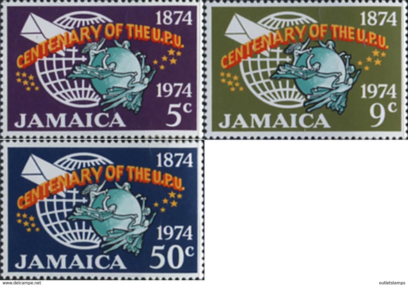 Ref. 176254 * NEW *  - JAMAICA . 1974. 100 ANNIVERSARY OF THE UPU. 100 ANIVERSARIO DE LA UPU - Jamaica (1962-...)