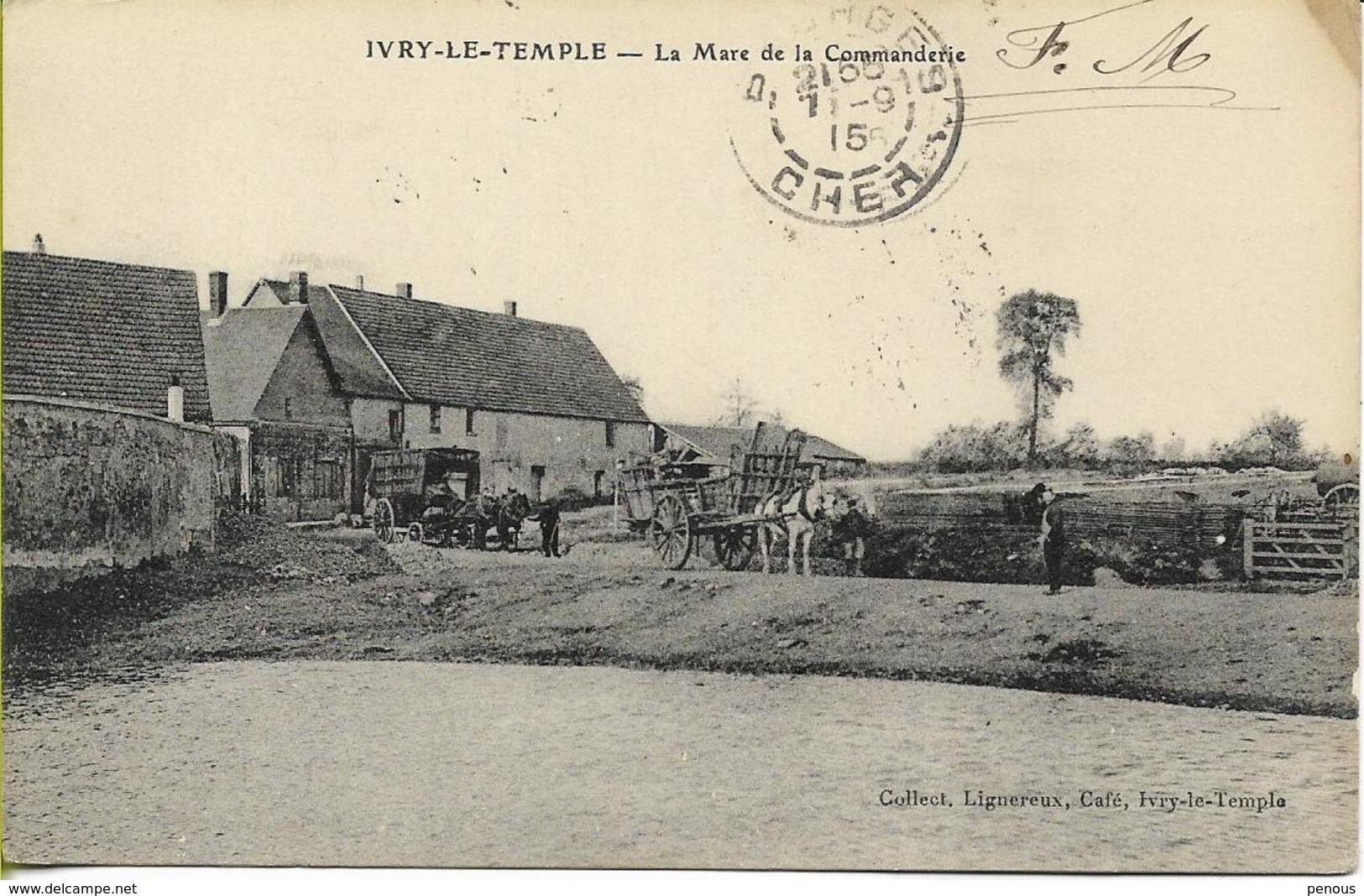 IVRY LE TEMPLE  La Mare De La Commanderie - Other Municipalities