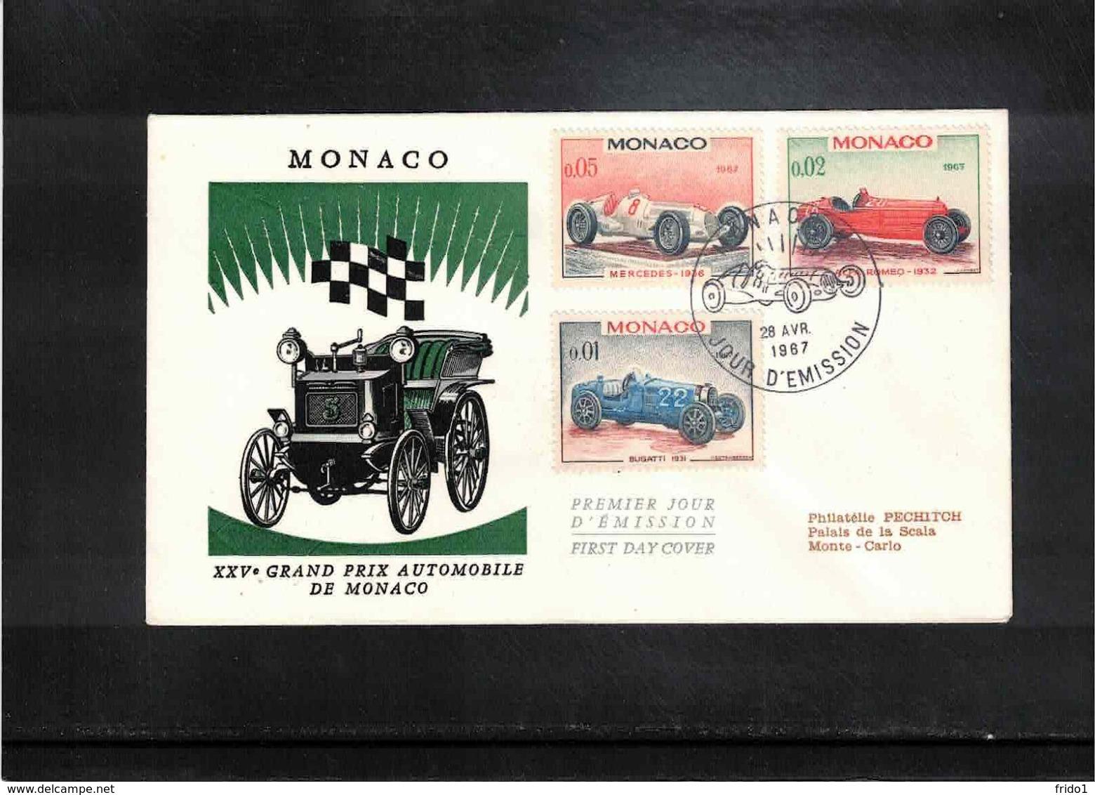 Monaco 1967 Car Racing Interesting Cover - Automobile