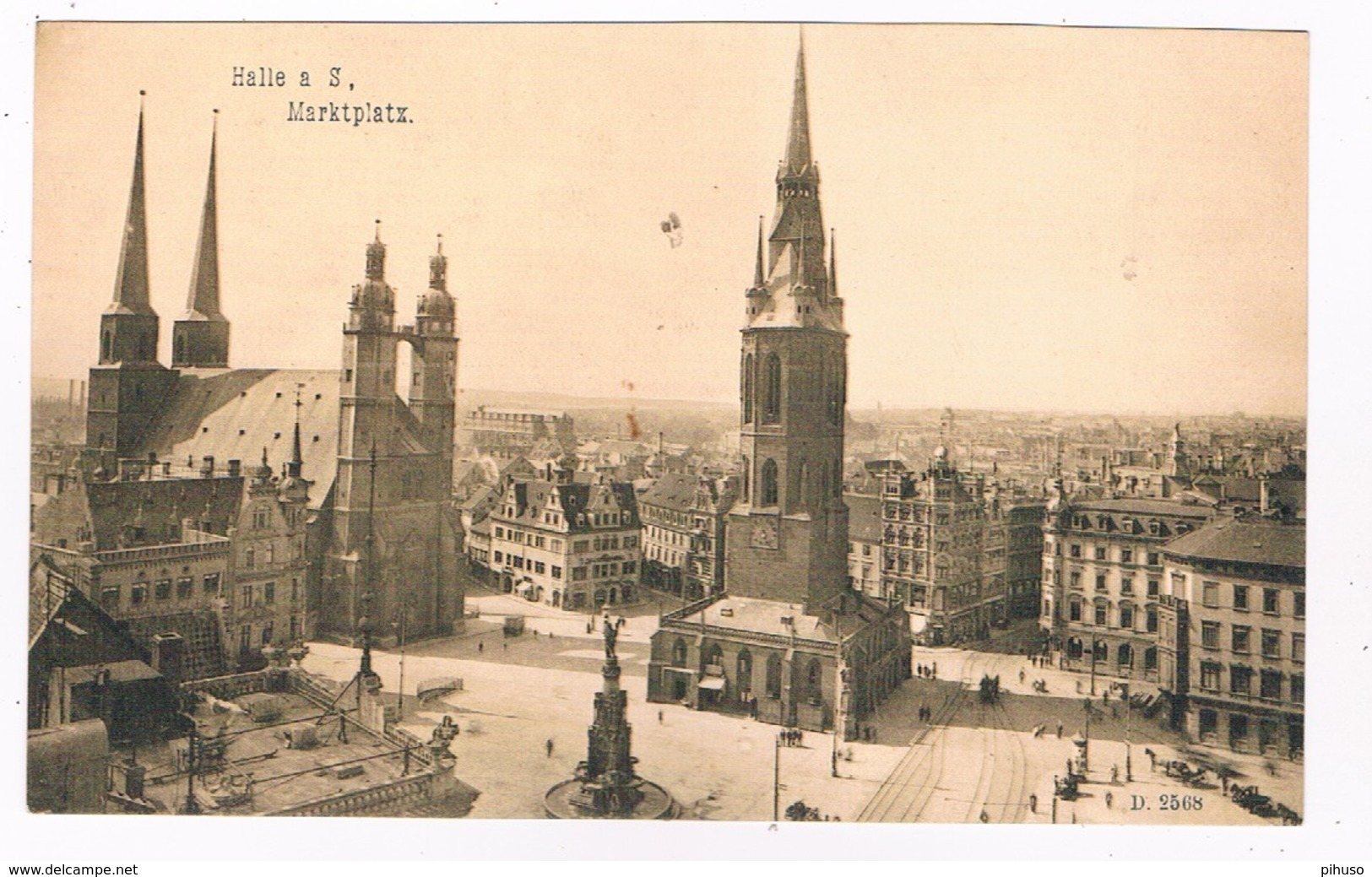 D-9894   HALLE: Marktplatz - Halle (Saale)