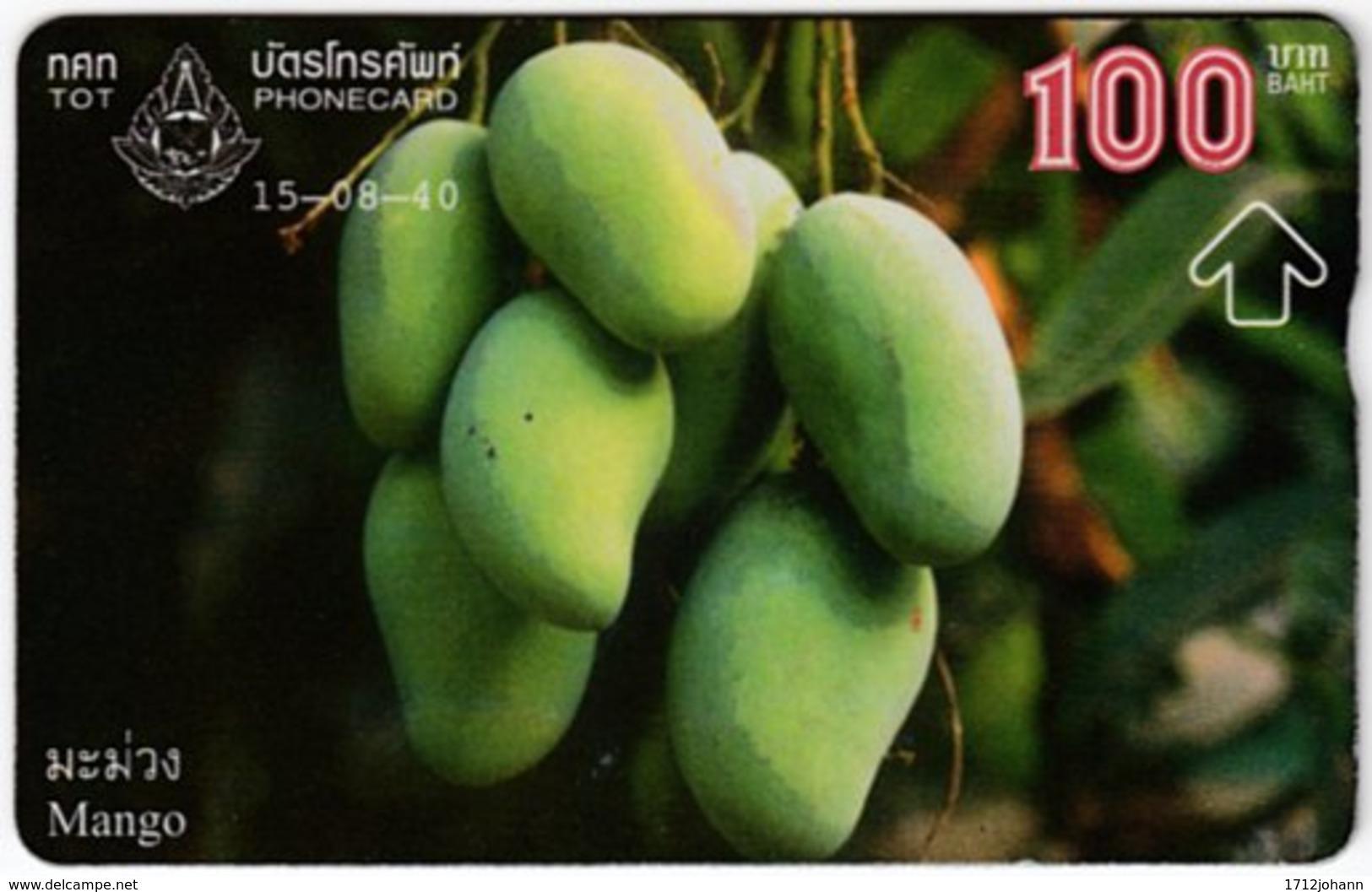 THAILAND F-175 Hologram TOT - Plant, Fruit - 785C - Used - Thaïland
