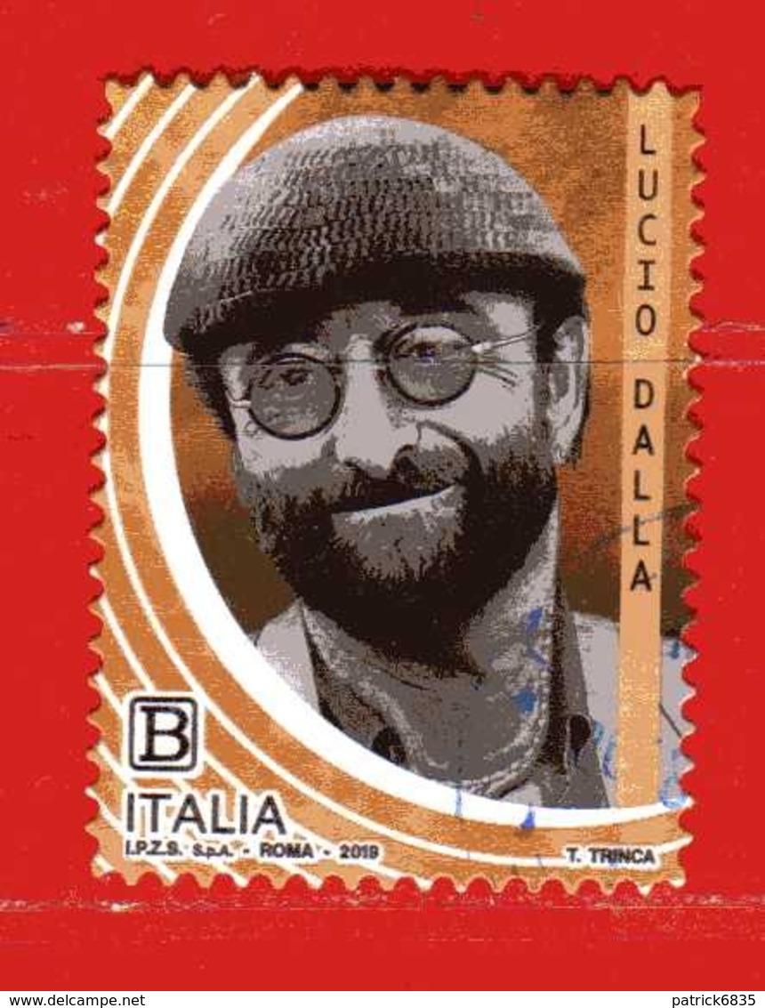 Italia °- 2019 - Le ECCELLENZE, LUCIO DALLA.  Usato - 6. 1946-.. Repubblica