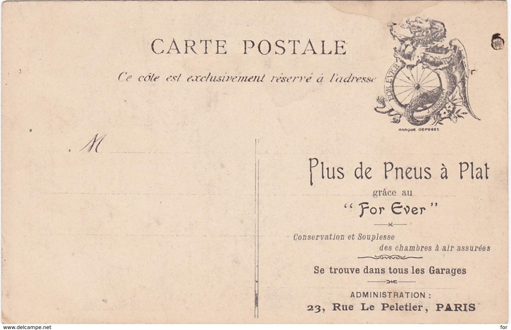 Politique - Satiriques : Illustrateur - DEROULEDE - Les Yeux Tounés Vers L'est .... - Au Dos Pub. Plus Le Pneus à Plat . - Satirical