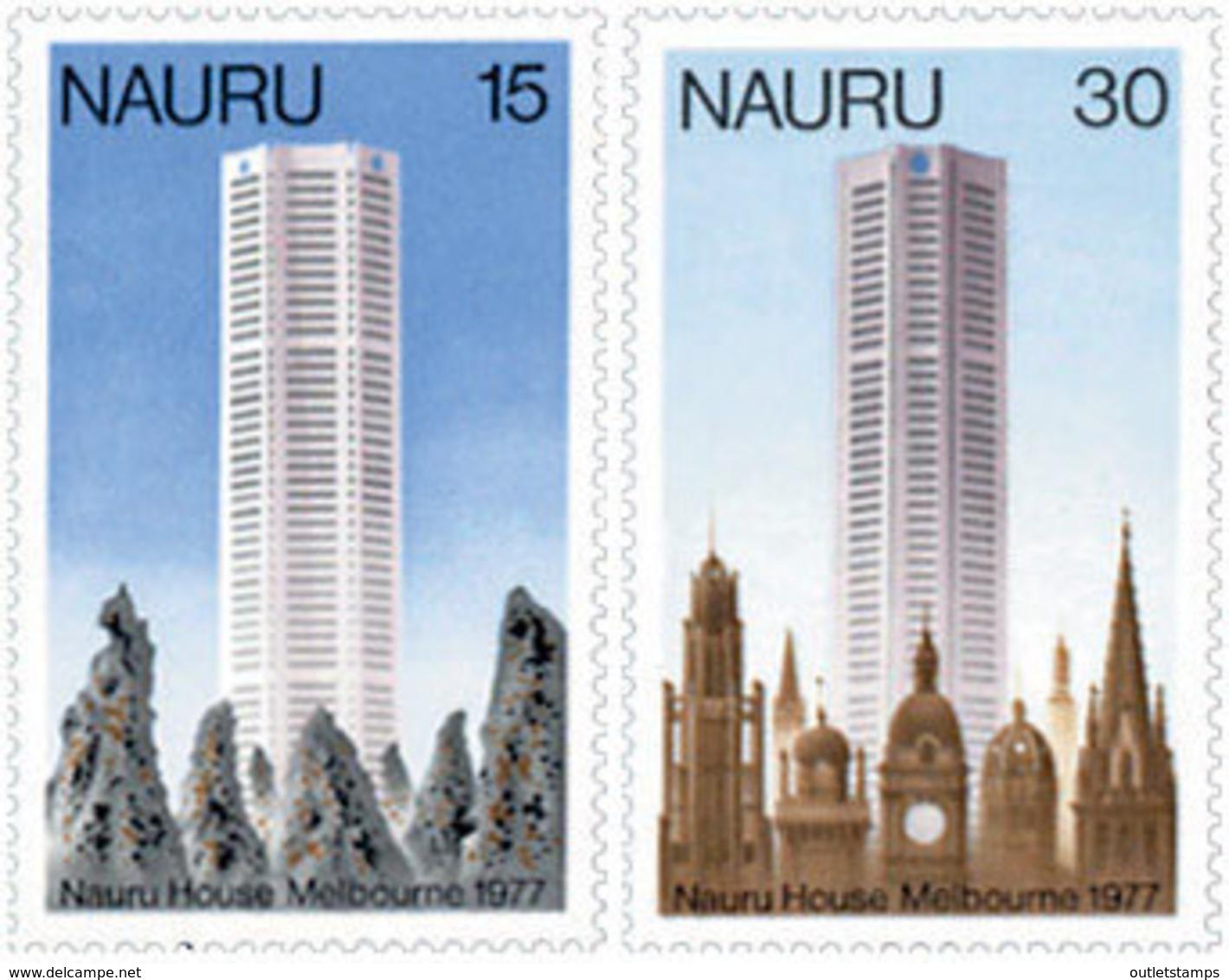 Ref. 125760 * NEW *  - NAURU . 1977. NAURU BUILDING IN MELBOURNE. EDIFICIO DE NAURU EN MELBOURNE - Nauru