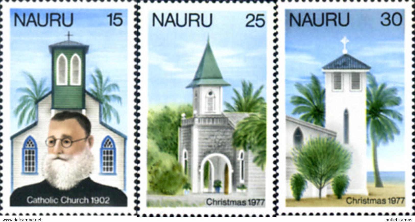 Ref. 125762 * NEW *  - NAURU . 1977. CHRISTMAS. NAVIDAD - Nauru
