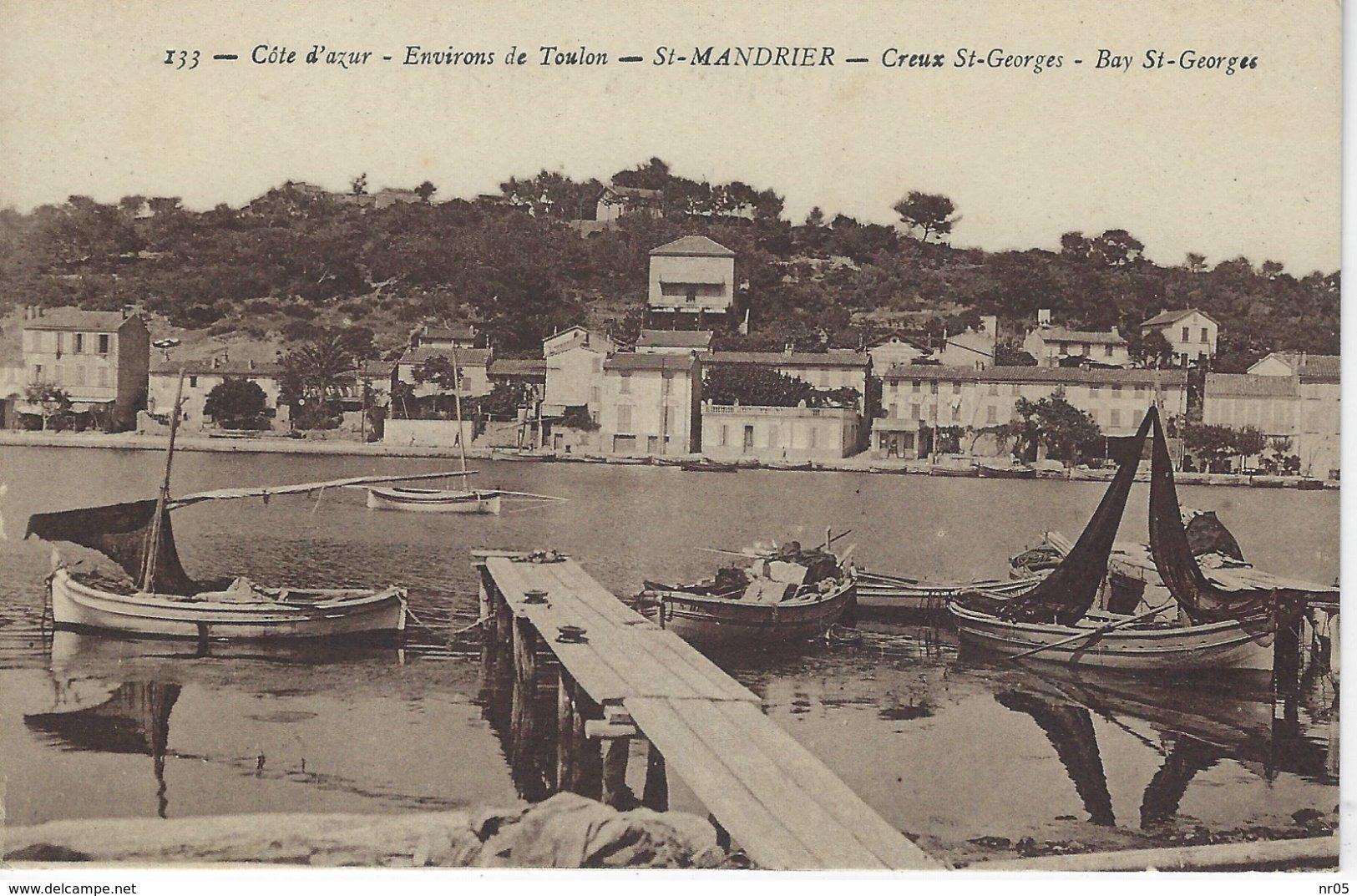 83 ( Var ) - Environs De Toulon - St MANDRIER - Creux St Georges - - Saint-Mandrier-sur-Mer