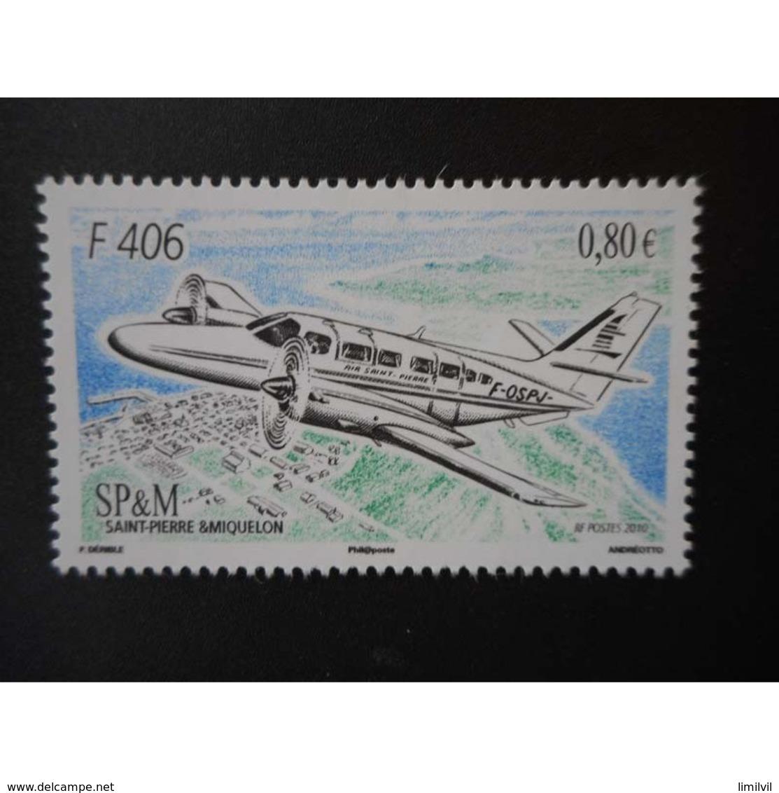 Timbre N° 979 Neuf ** - Avion F 406 - Ungebraucht
