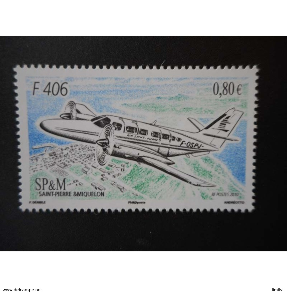 Timbre N° 979 Neuf ** - Avion F 406 - Nuevos