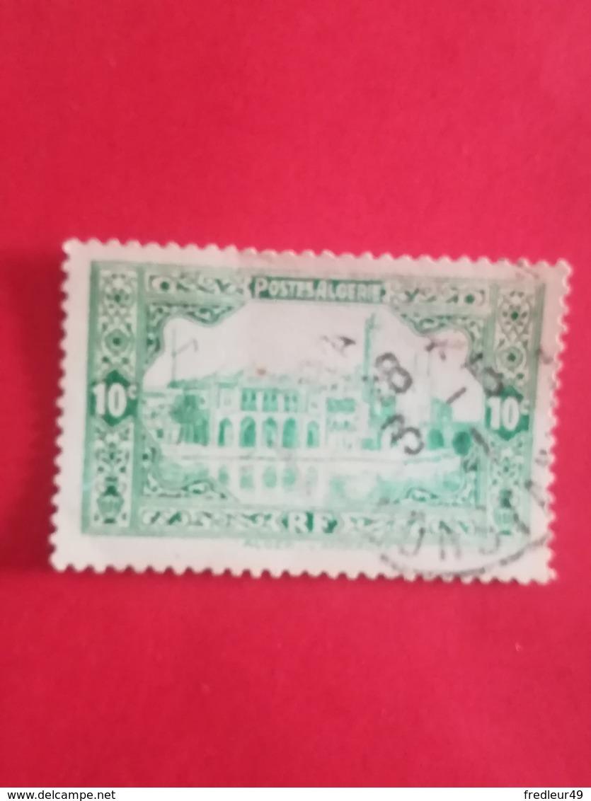 Ref 11 Algérie N°83 10c - Amirauté Alger 1936 - Algeria (1962-...)