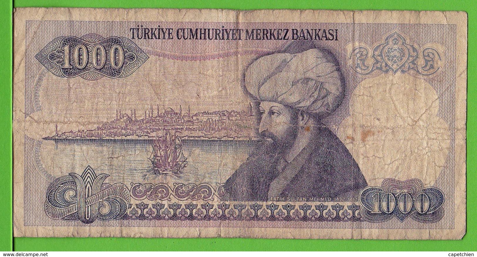 TURQUIE / 1000 TÜRK LIRASI / 1970 - Turchia