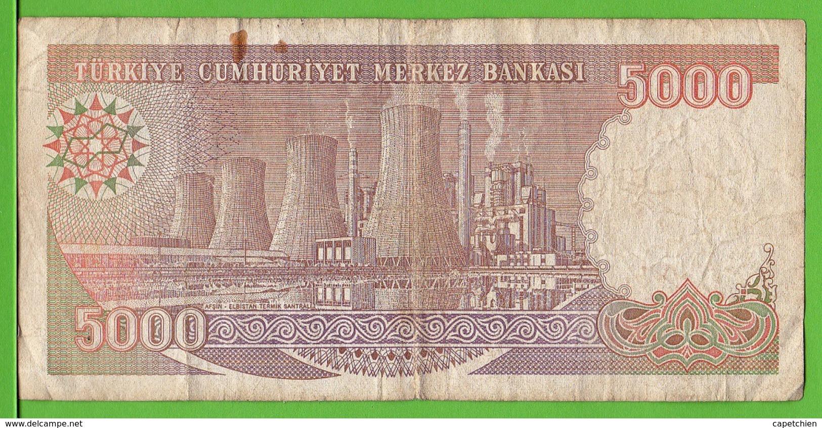 TURQUIE / 5000 TÜRK LIRASI / 1970 - Turquia