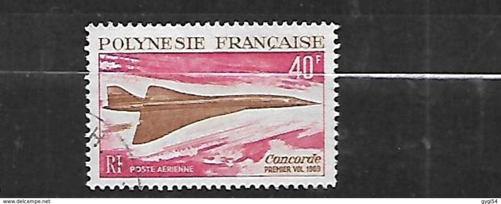 Polynésie Française 1969 Poste Aérienne    Cat Yt N° 27 OBL - Oblitérés