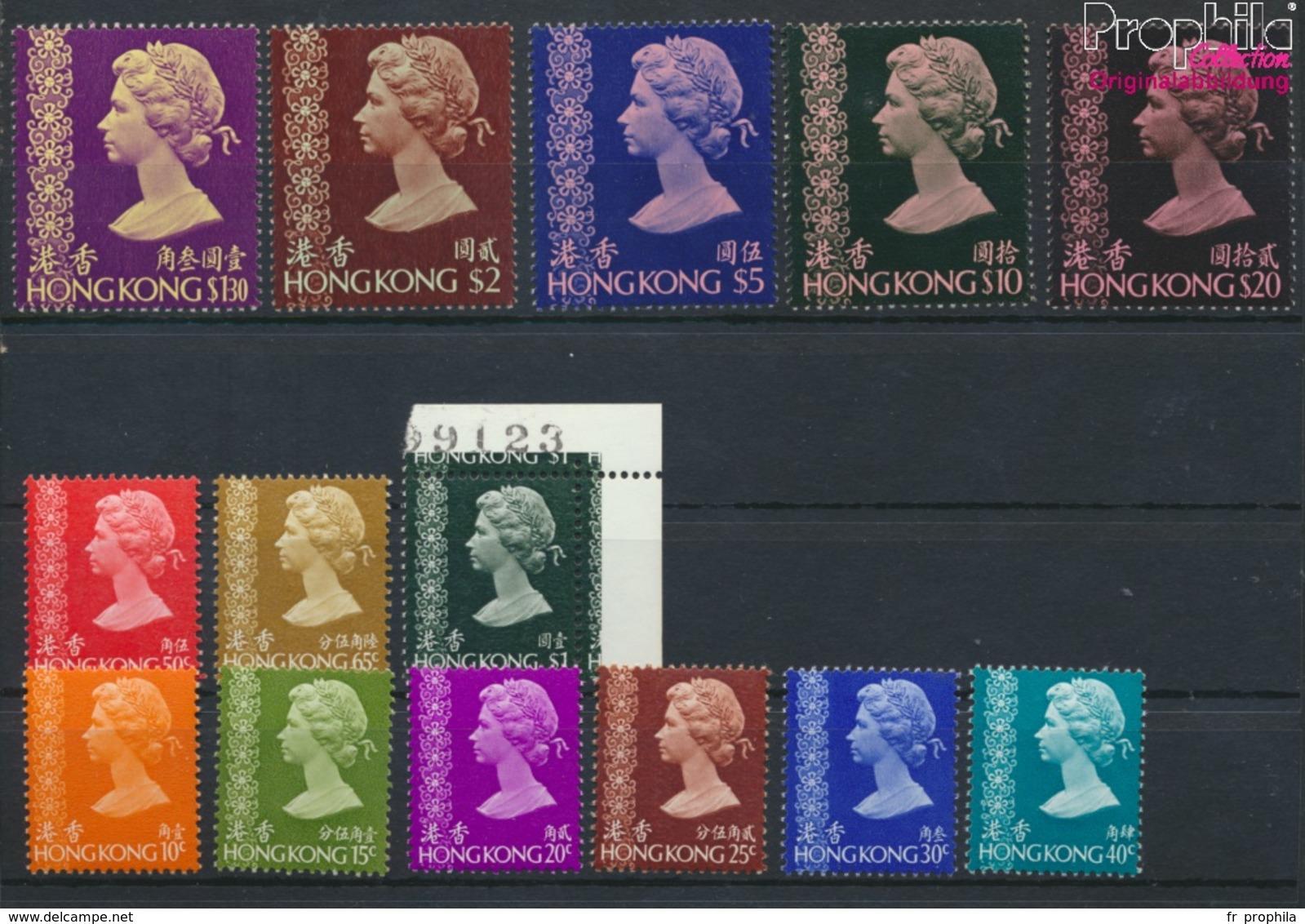 Hong Kong 295-305 (complète.Edition.) Neuf Avec Gomme Originale 1975 Queen Elizabeth Ii. (9349793 (9349793 - Hong Kong (...-1997)