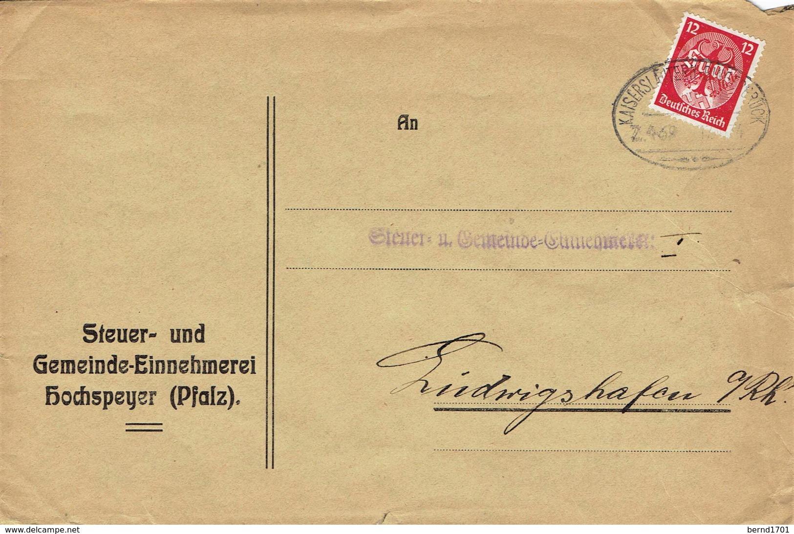 Deutsches Reich - Umschlag Echt Gelaufen / Cover Used (A883) - Deutschland