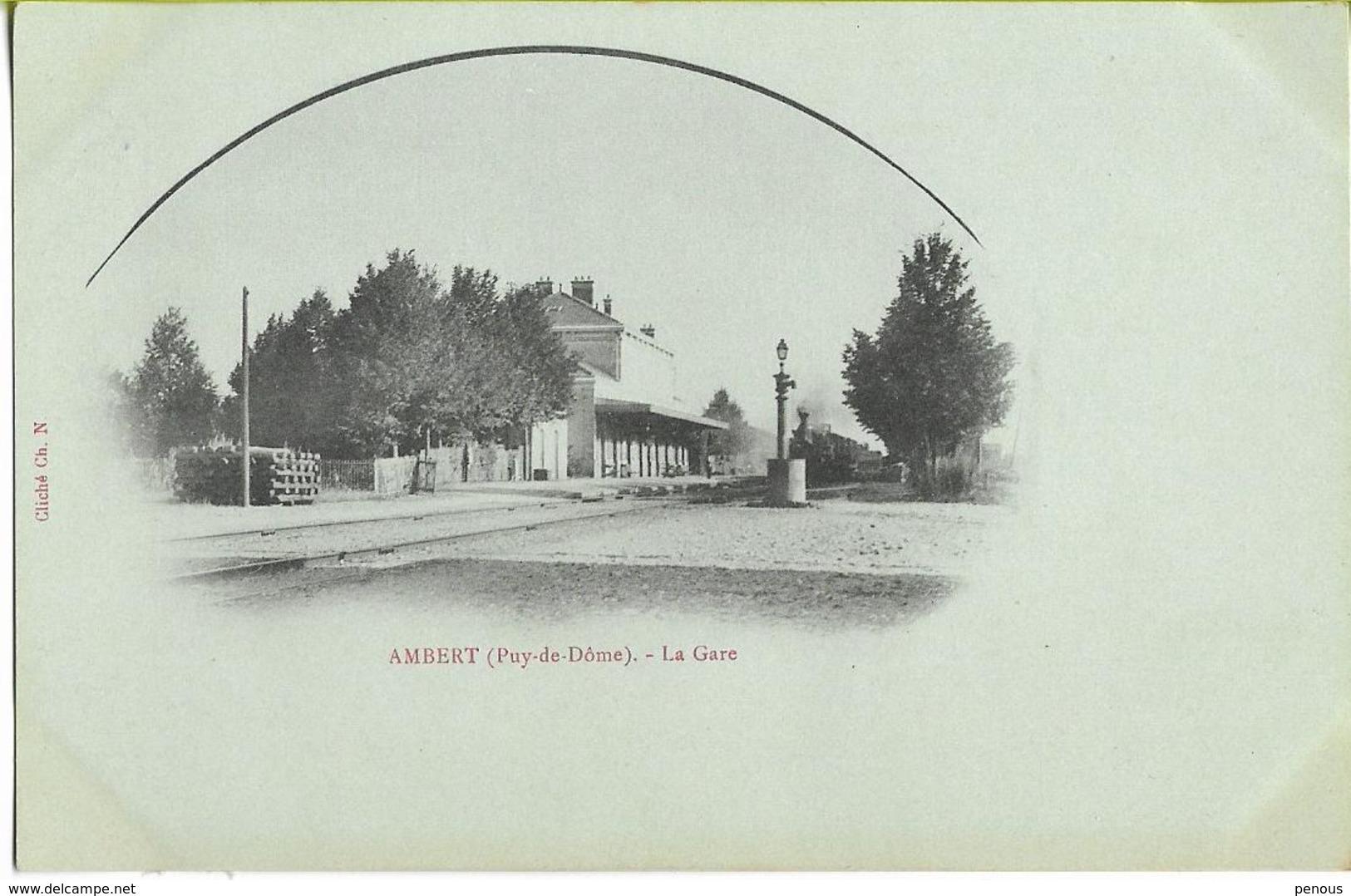 AMBERT  La Gare - Ambert