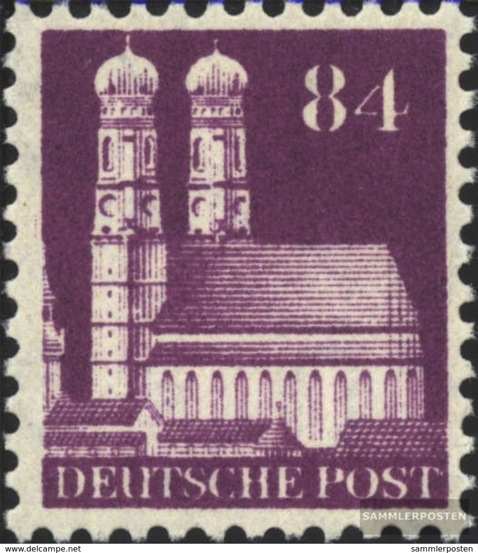 Bizonale (Allied Cast) 95 Lontano Dentato Con Fold 1948 Edifici - Zona Anglo-Américan