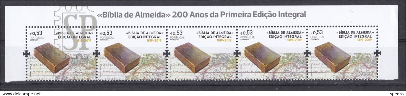 Portugal 2019 Bíblia De Almeida Bible Book Livre Religião Religion - Cristianismo