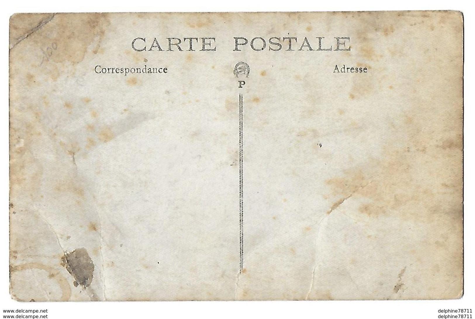 BRIONNE  Fanfare   Carte-photo Recto-verso En L'état - France