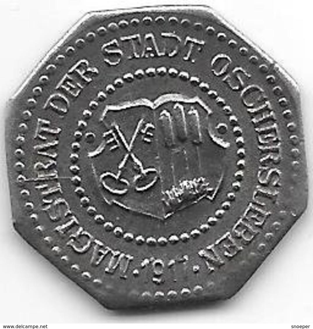 *notgeld  Oschersleben 10 Pfennig  1917 Fe  412.6b - [ 2] 1871-1918: Deutsches Kaiserreich