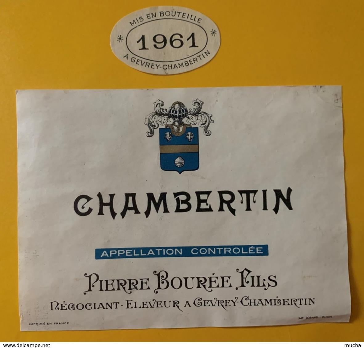 12112 - Chambertin 1961 Pierre Bourée - Bourgogne