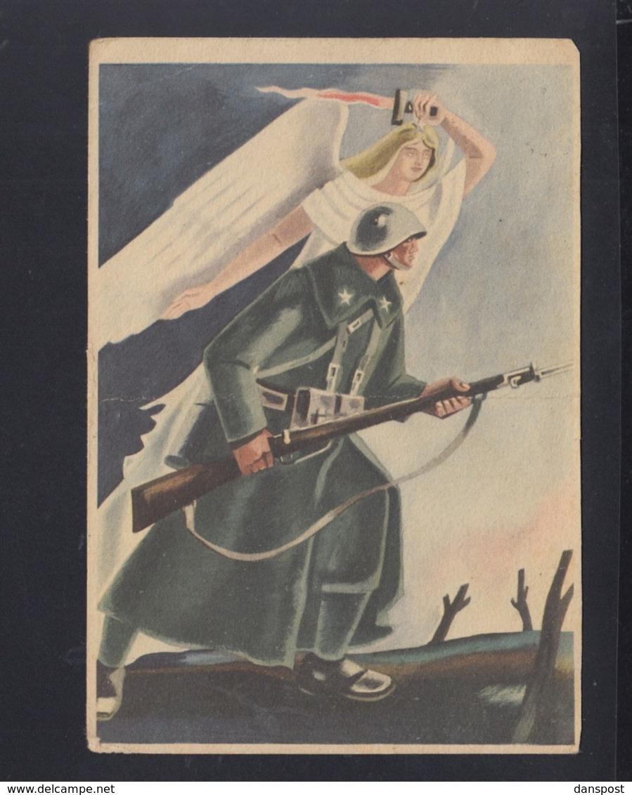 Cartolina Per Le Forze Armate 1943 (3) - 1900-44 Victor Emmanuel III