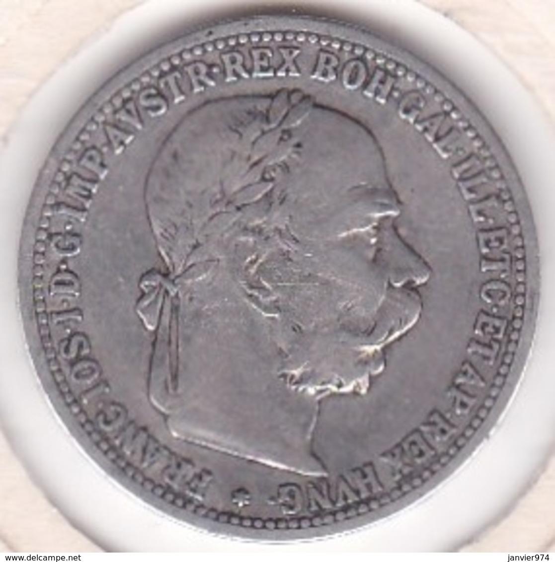 Autriche 1 Corona 1901 Franz Joseph I, En Argent KM# 2804 - Austria