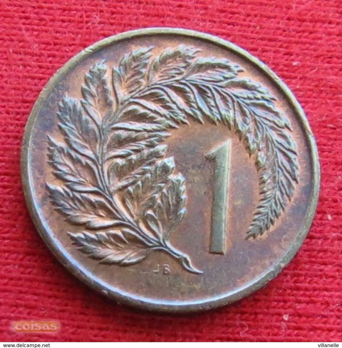 New Zealand 1 Cent 1970 KM# 31.1  Nova Zelandia Nuova Zelanda Nouvelle Zelande - New Zealand