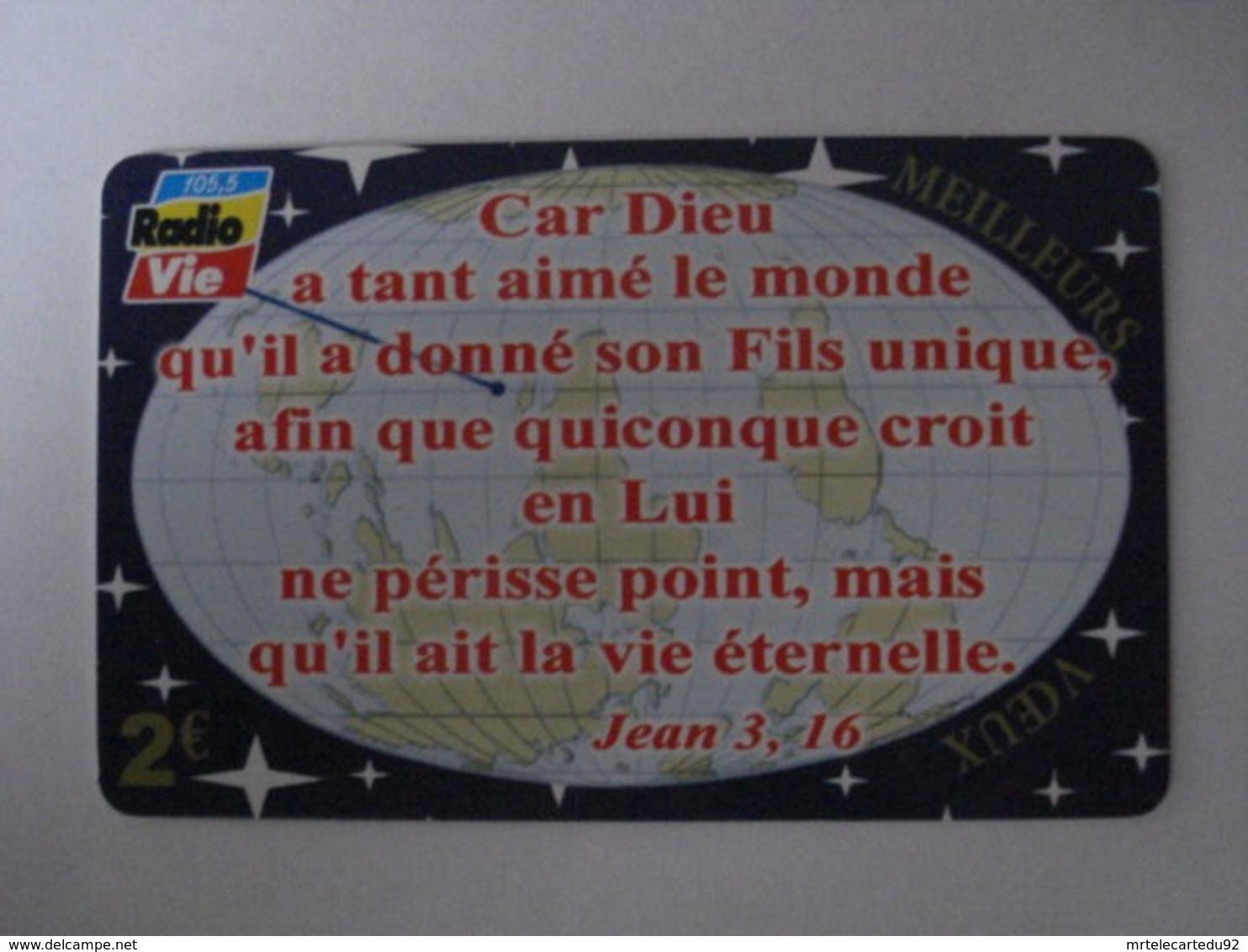 """Carte Téléphonique Prépayée """" Outremer Telecom """"  (utilisée).Traces De Rayures Au Verso - Frankrijk"""