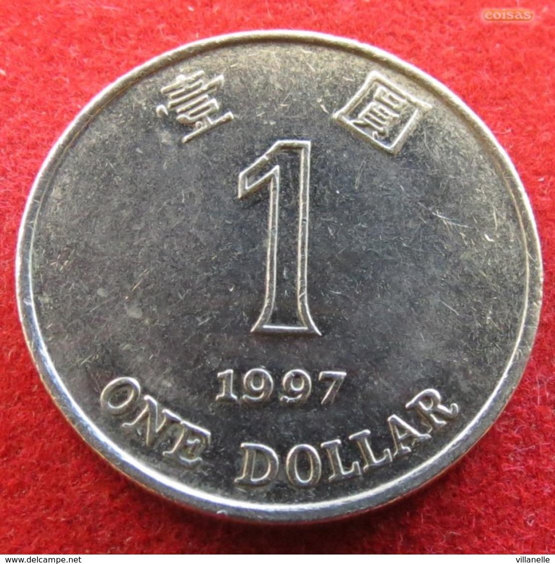 Hong Kong 1 One Dollar 1997 KM# 69a  Hongkong Hong-Kong - Hongkong