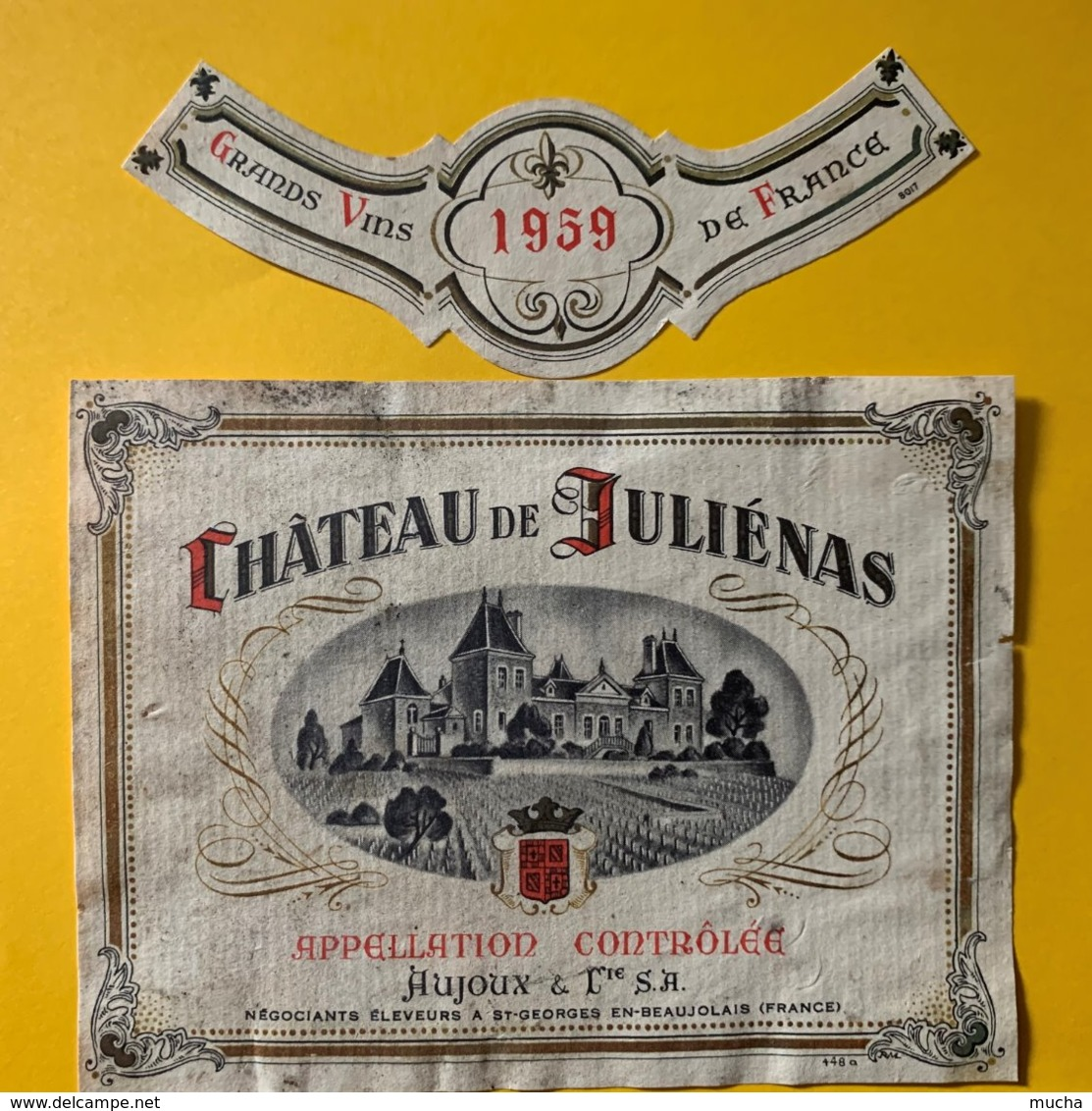 12131 - Château De Juliénas 1959 Aujoux - Beaujolais