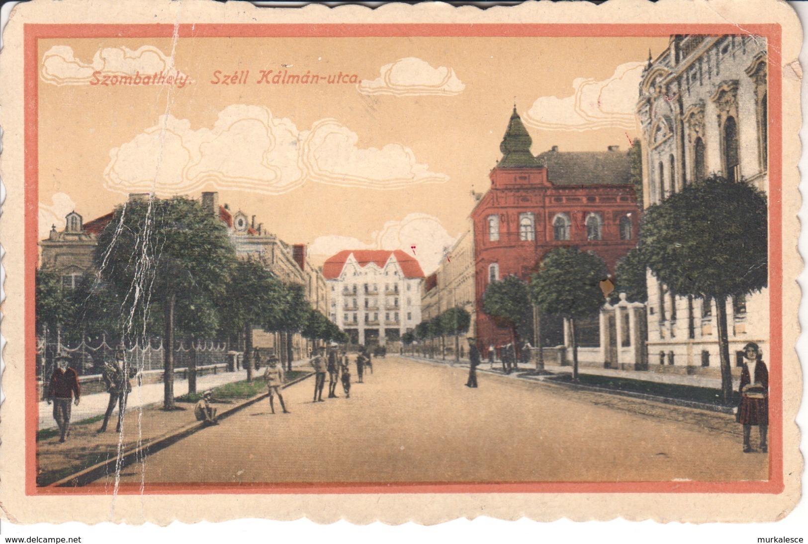 4744  AK--Szombathely-ZIDANI  MOST  SHS  1920 - Ungheria
