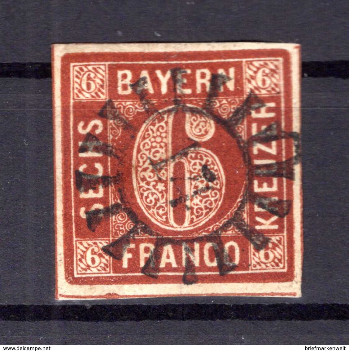 Bayern Nummernstpl GMR14 4 Tadellos Gest. (B5813 - Bayern