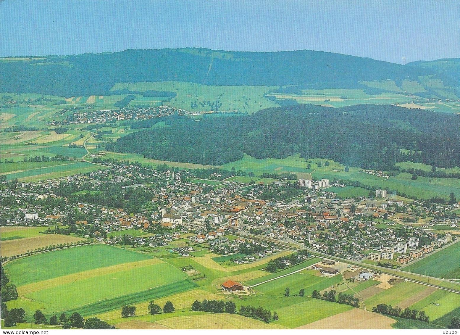Bassecourt - Vue Aérienne         Ca. 1980 - JU Jura